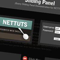 Top Panel With jQuery
