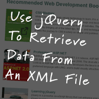 Load Data From An XML File With jQuery