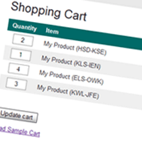 Build An AJAX Powered Online Shopping Cart