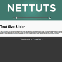 jQuery Text Slider