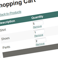 Shopping Cart in ASP.NET