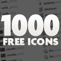 1000 Free Icons!