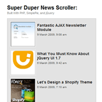 How to Build a Super Duper News Scroller