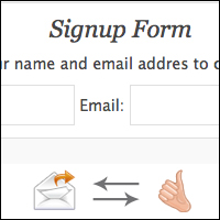 Member signup with email verification