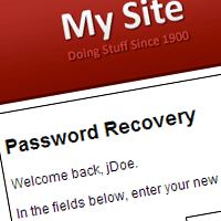 Password Recovery