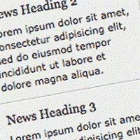 Build a Simple jQuery News Ticker