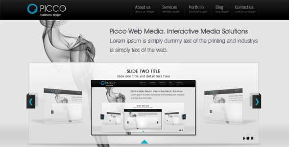 Picco - The Portfolio Template