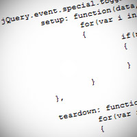 Custom Events and Special Events API in jQuery