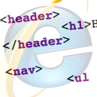 How to Make IE6 Render HTML5 Mark-up Correctly