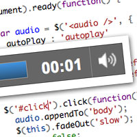 Quick Tip: The HTML 5 Audio Element