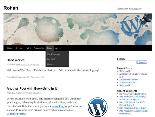 wordpress 3.00 WPMU and Buddy press