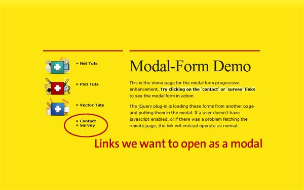 A Modal Form