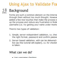 , Come utilizzare facilmente Ajax con jQuery (parte 6)